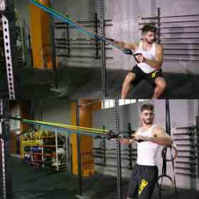 Elastiques de résistance pour musculation